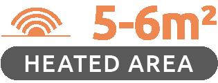 350W Premium Frameless Infrared Heating Panel