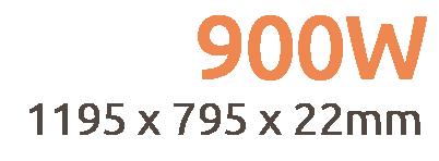 900W NXT Gen Infrared Heating Panel