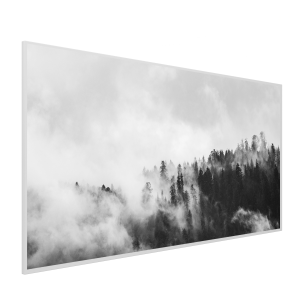 595x1195 Clouded Trees Picture NXT Gen Infrared Heating Panel 700W - Electric Wall Panel Heater - Brand New