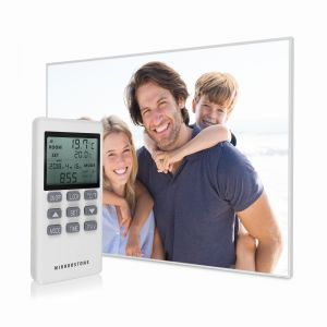 1200w Personalised Image NXT Gen Infrared Heating Panel - Electric Wall Panel Heater