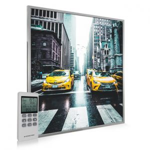 995x1195 New York Taxi Picture NXT Gen Infrared Heating Panel 1200W - Electric Wall Panel Heater