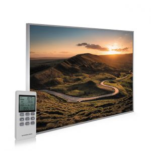 995x1195 Rural Sunset Picture NXT Gen Infrared Heating Panel 1200W - Electric Wall Panel Heater